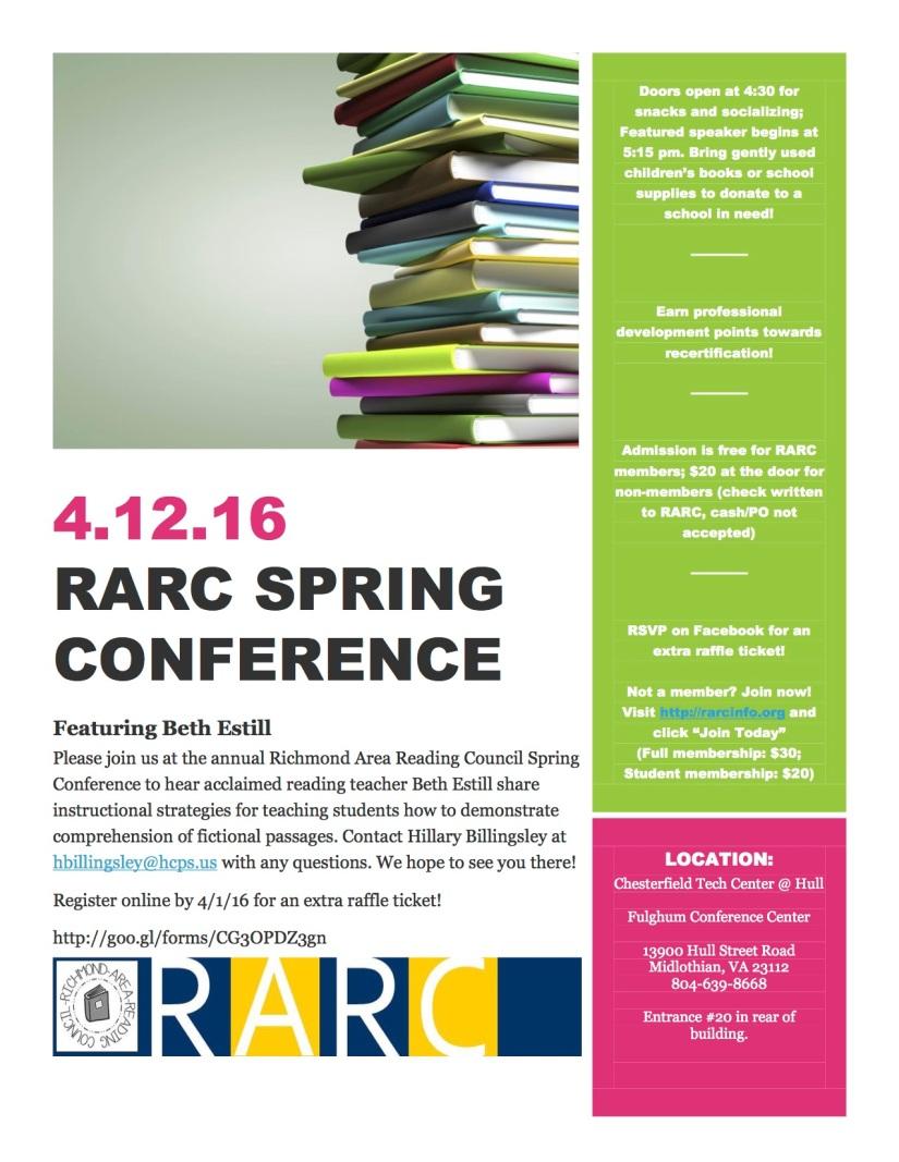 spring conference flyer 2016